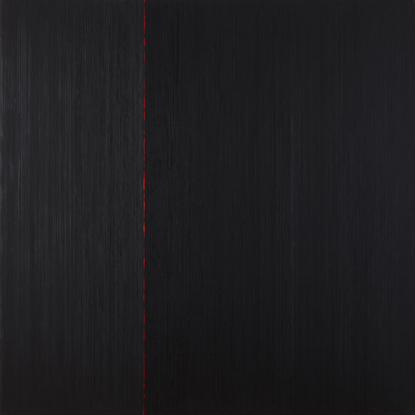 Els Moes, 2009-10, alkyd/oil on linen, 140x140cm