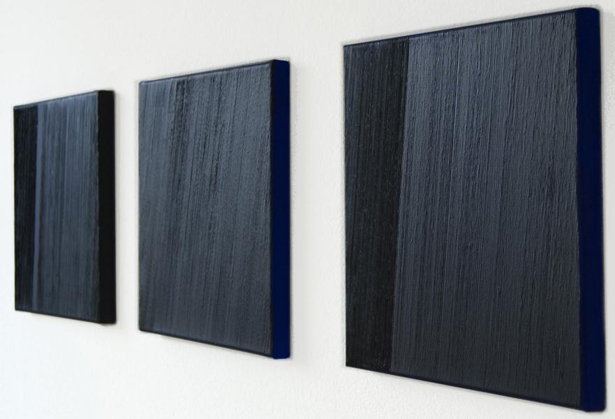 Els Moes, 2010-21, 22, 23 , alkyd/oil on linen, 30x30cm