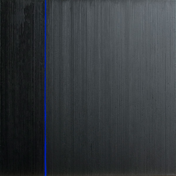 Els Moes, 2010, oil/alkyd/pigment on linen, 70x70cm