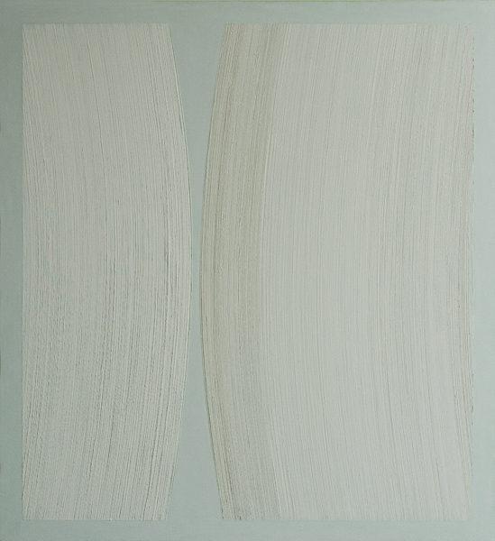 Els Moes, 2011-05, alkyd/oil on linen, 100x110cm