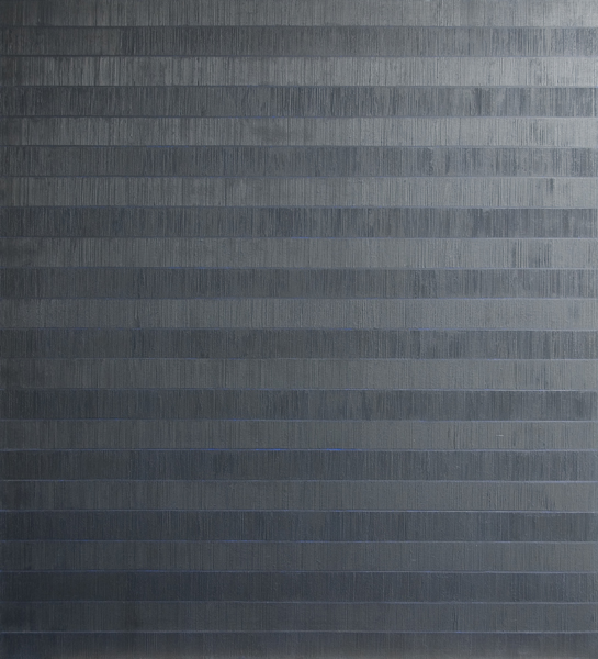 Els Moes, 2011-06, alkyd/oil on linen, 100x110cm