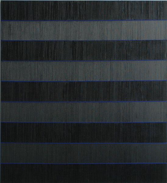 Els Moes, 2011-20, 100x110, alkyd/oil on linen