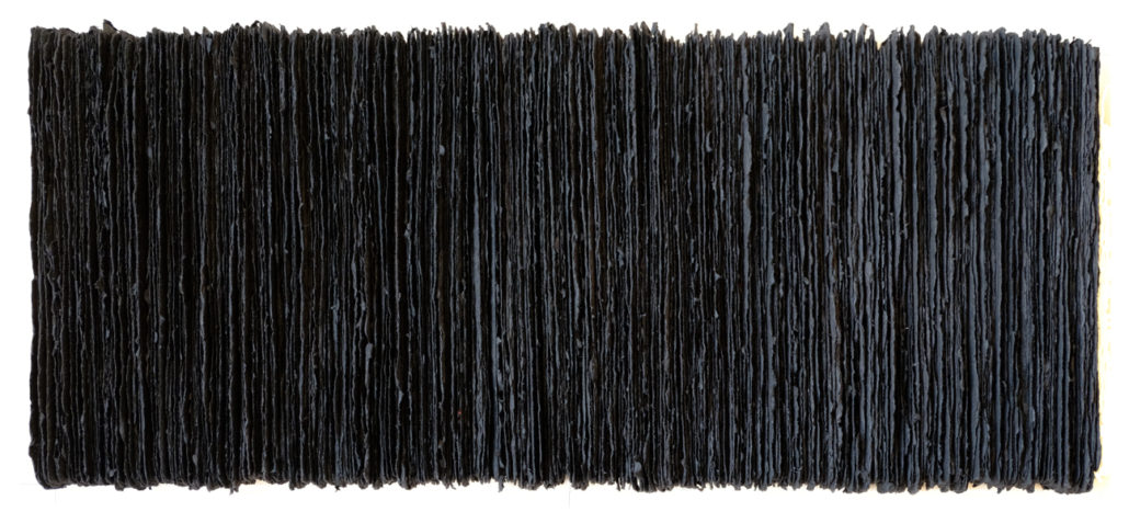 Els Moes, 2016-10, paperwork, paper/oilpaint, 52x26 cm