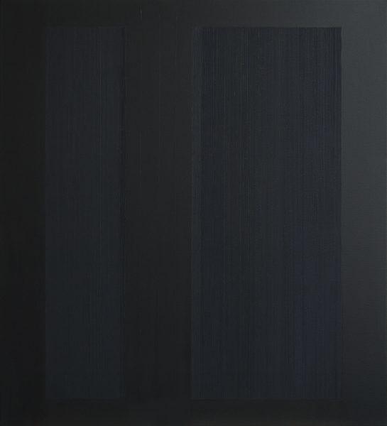 Els Moes, 2007-02, alky/oil on linen, 100x110 cm